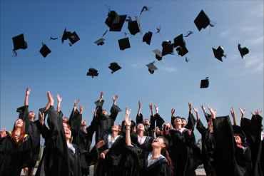 Joy of graduation